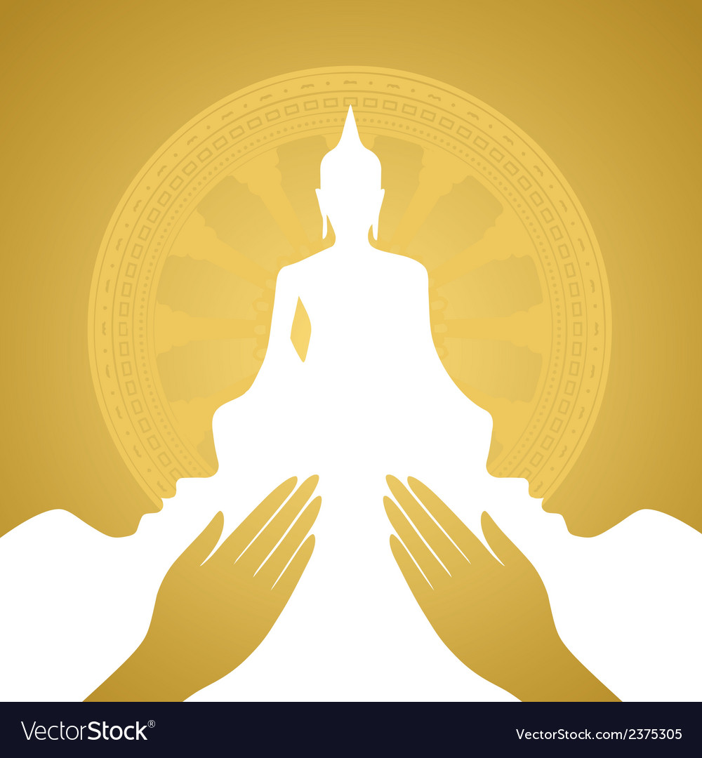 buddha royalty free vector image vectorstock rh vectorstock com buddha vector art buddha vector art free