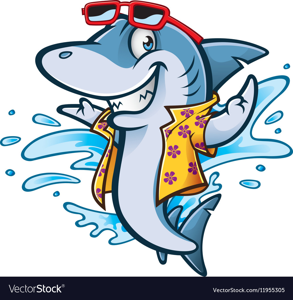 cartoon shark beach royalty free vector image vectorstock beach ball clip art free beach clip art free bucket