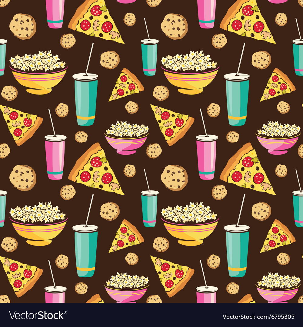 Colorful Sleepover Movie Night Party Food