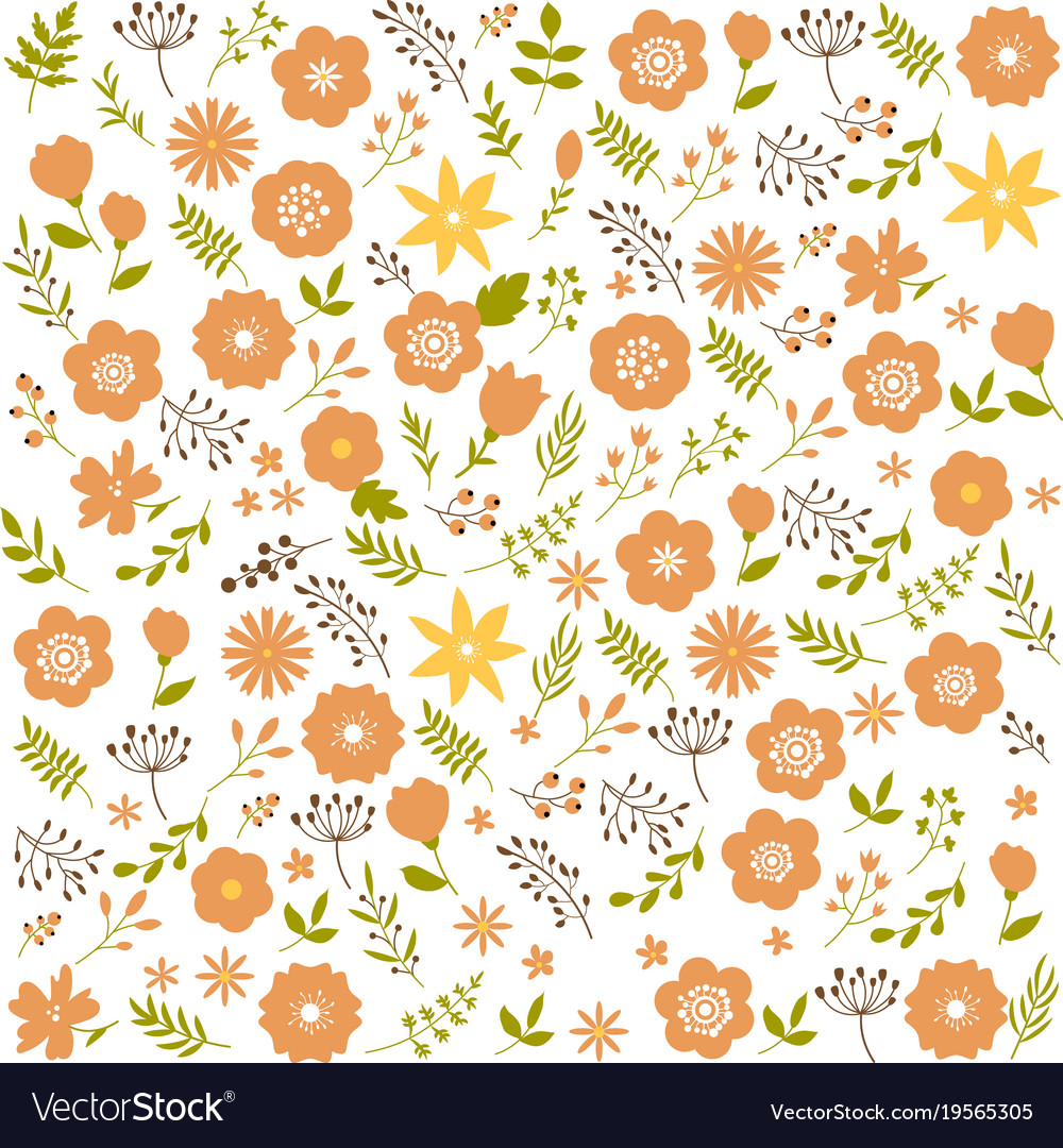 Floral seamless pattern background spring design