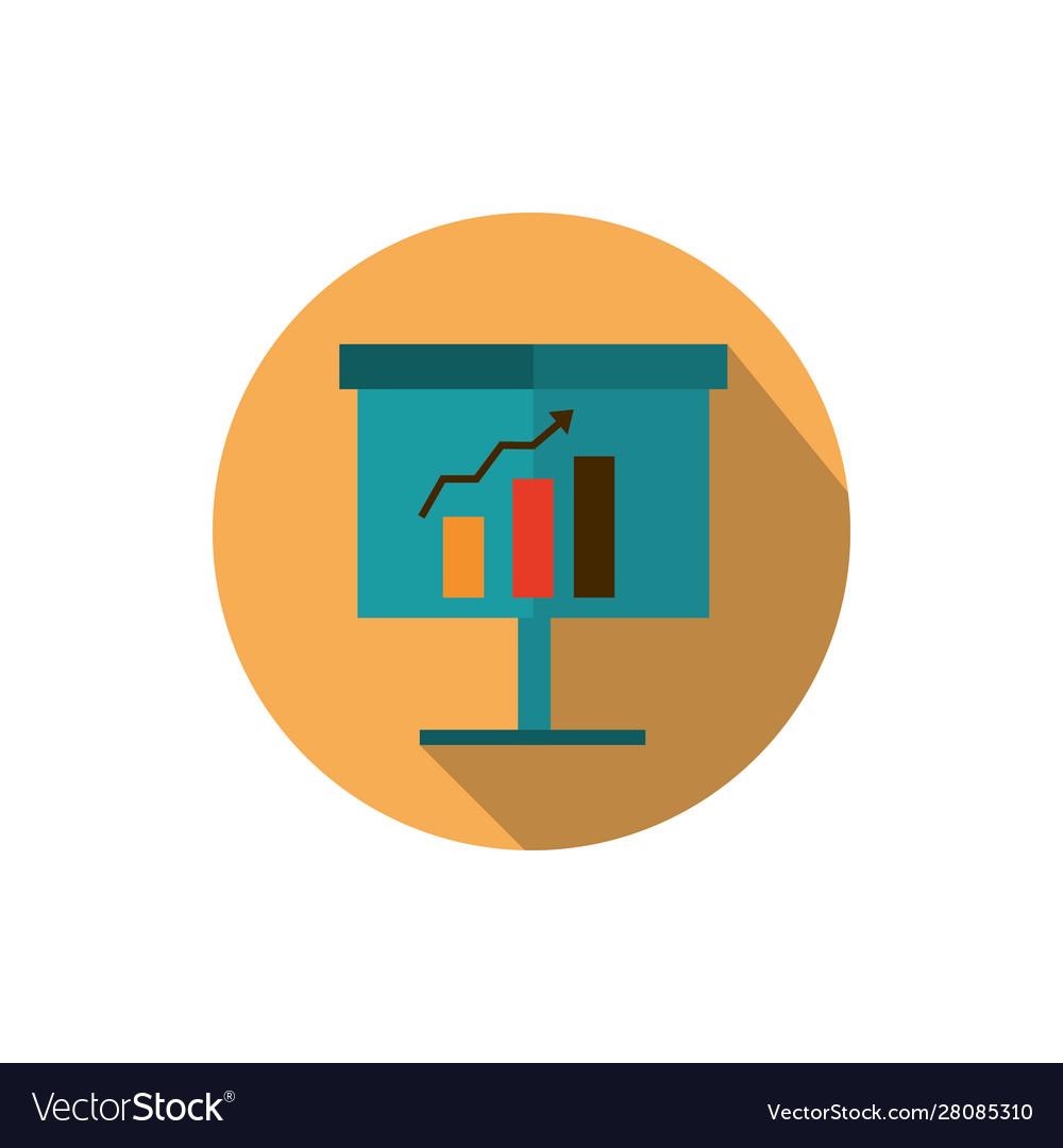 Board presentation statistics diagram profit