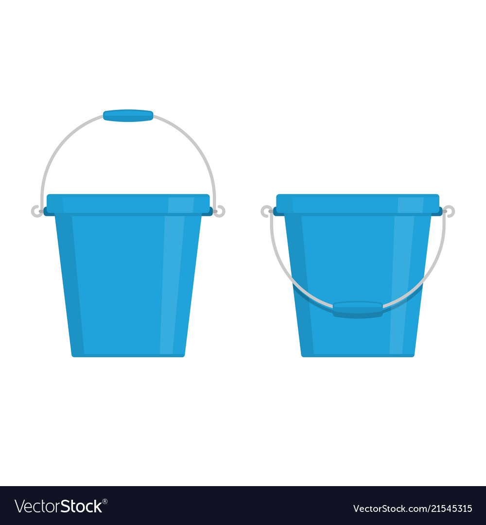 Buckets icon set