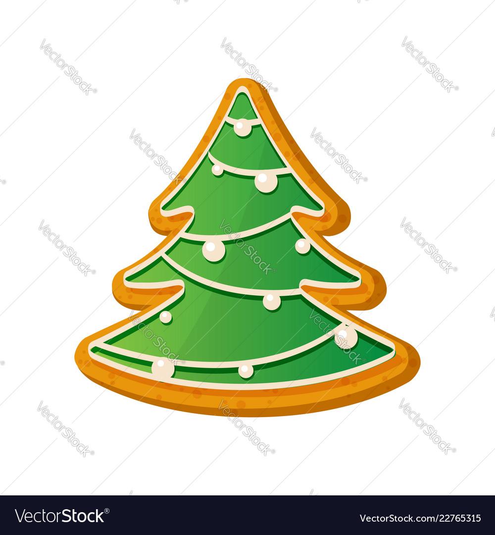 Gingerbread fir tree christmas ginger bread