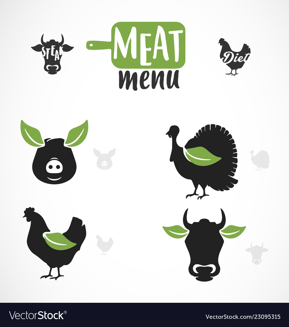 Meat menu icon
