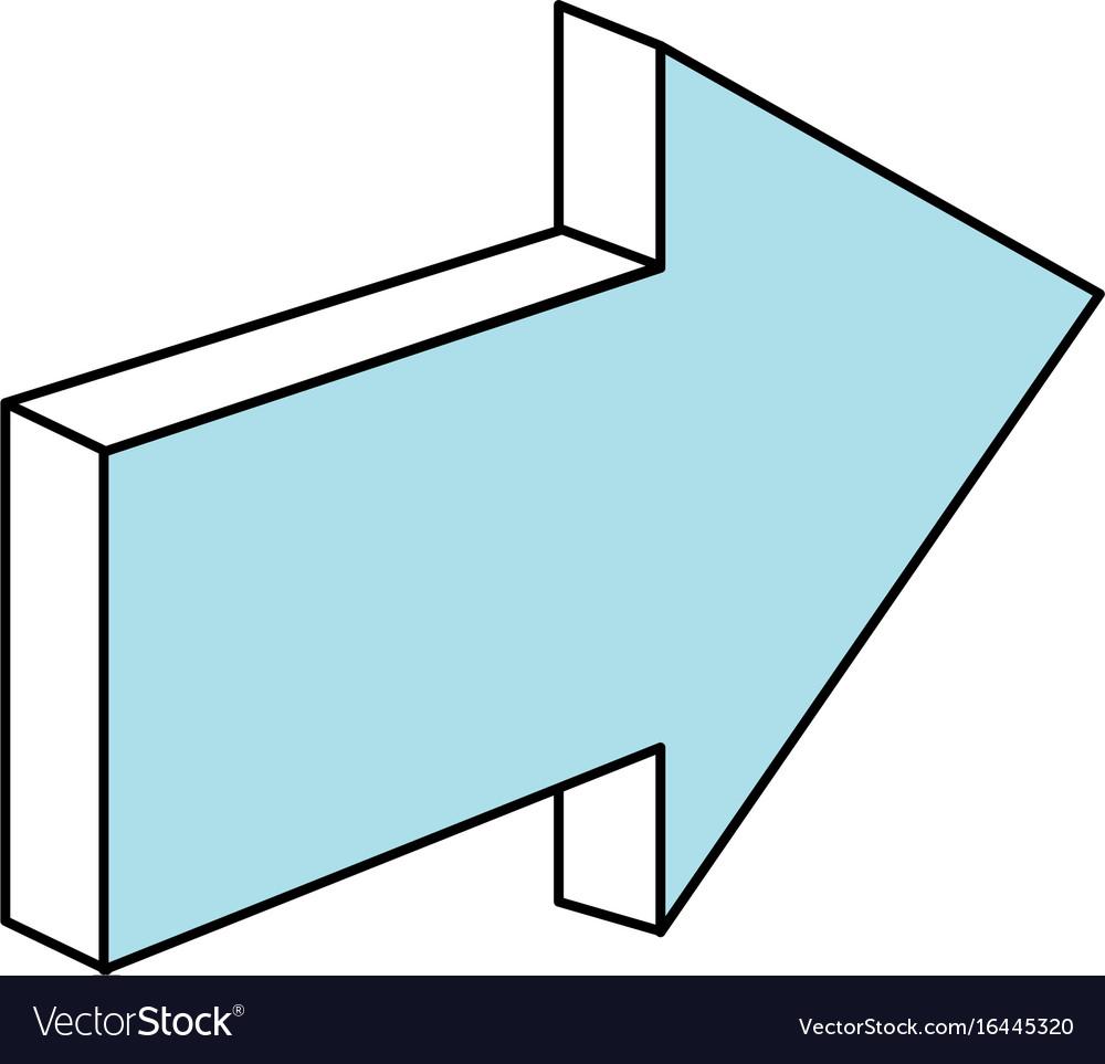 Arrow pointer symbol