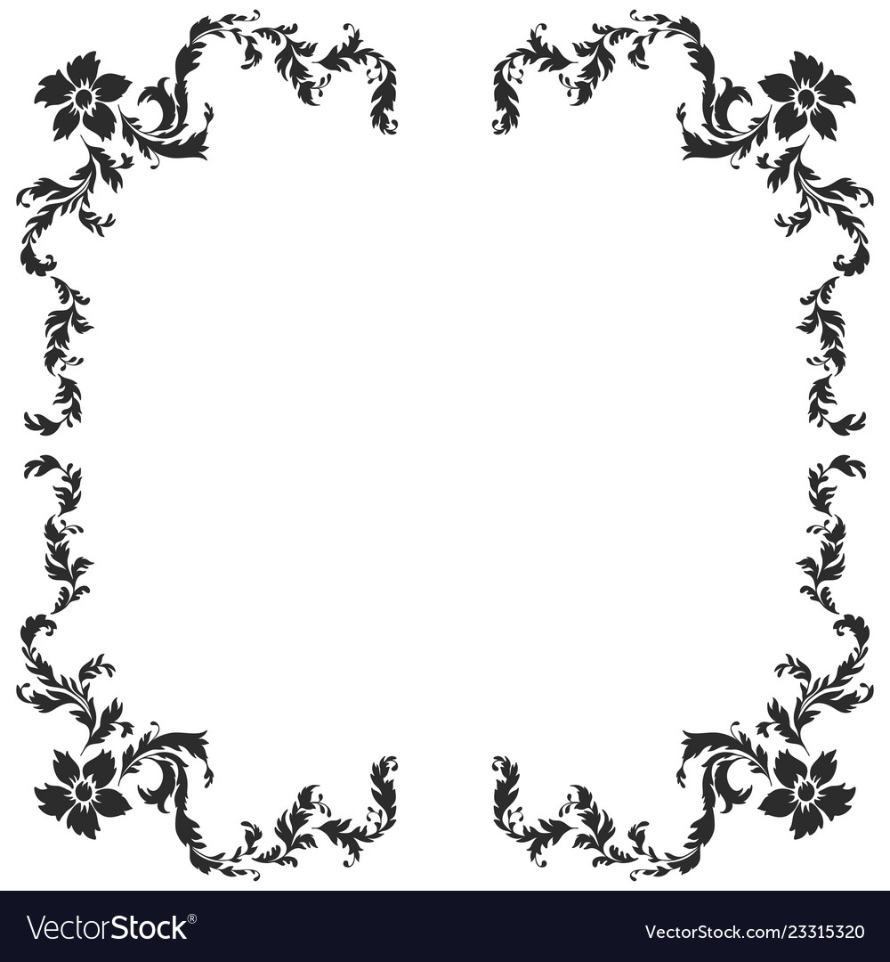 Baroque pattern elements