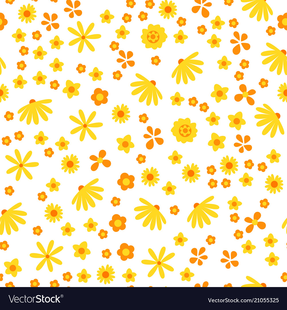 Amazing floral seamless pattern