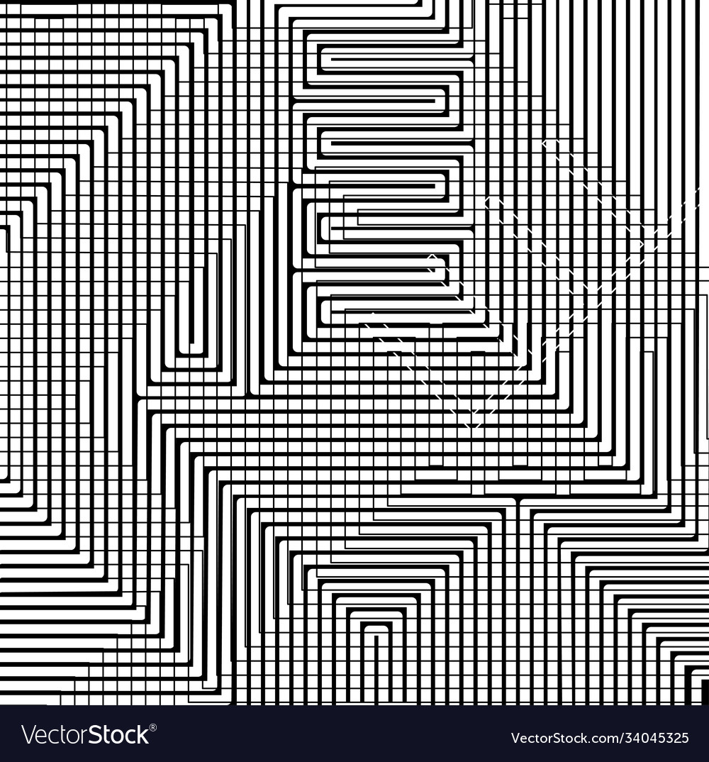Seamless tribal abstract stripped geometric