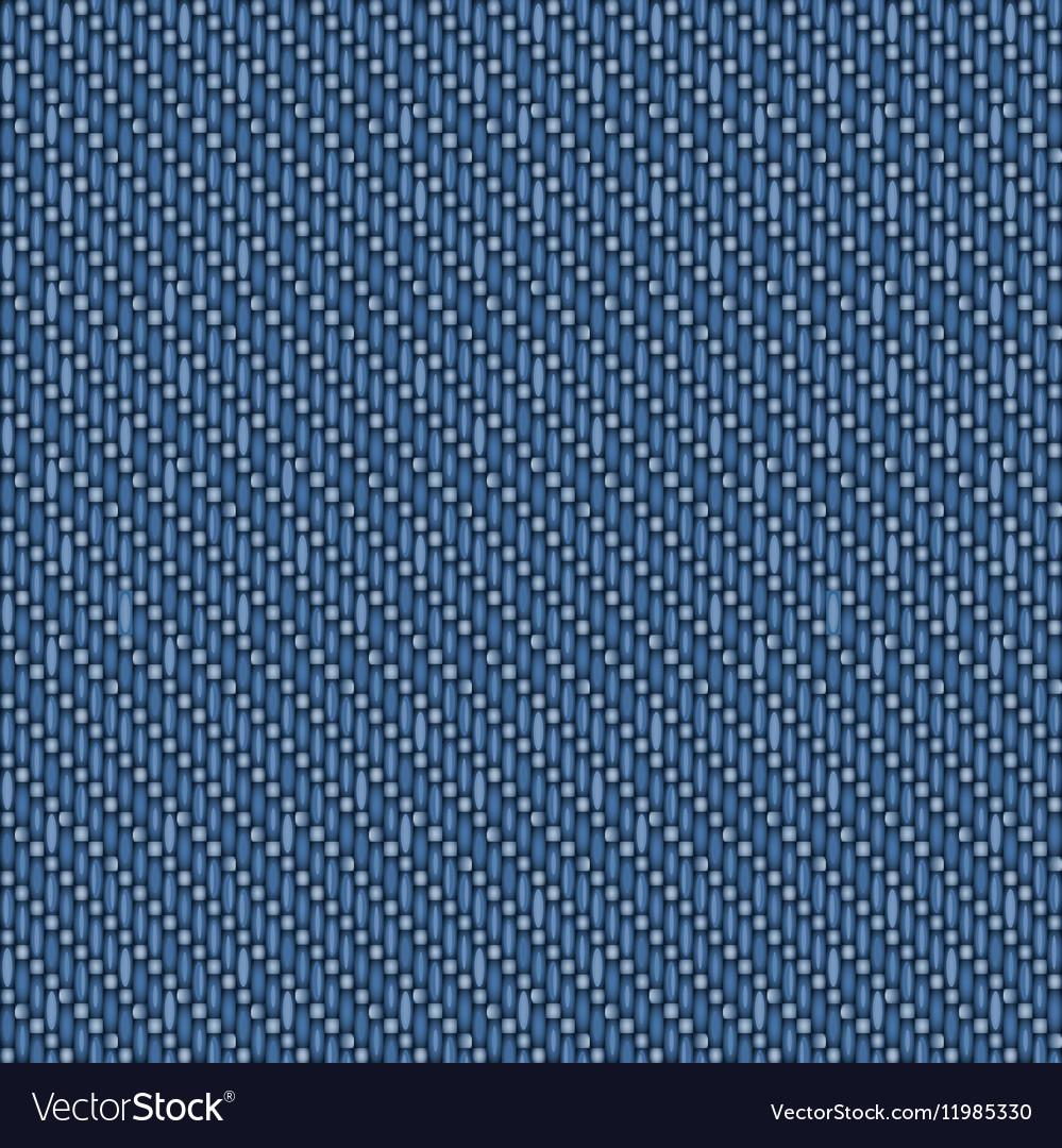 Seamless denim texture vector image