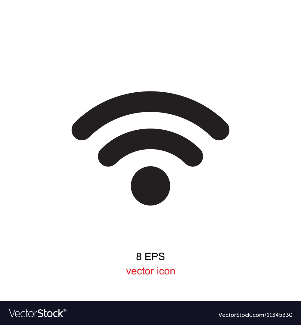 Wi-Fi Icon Isolated
