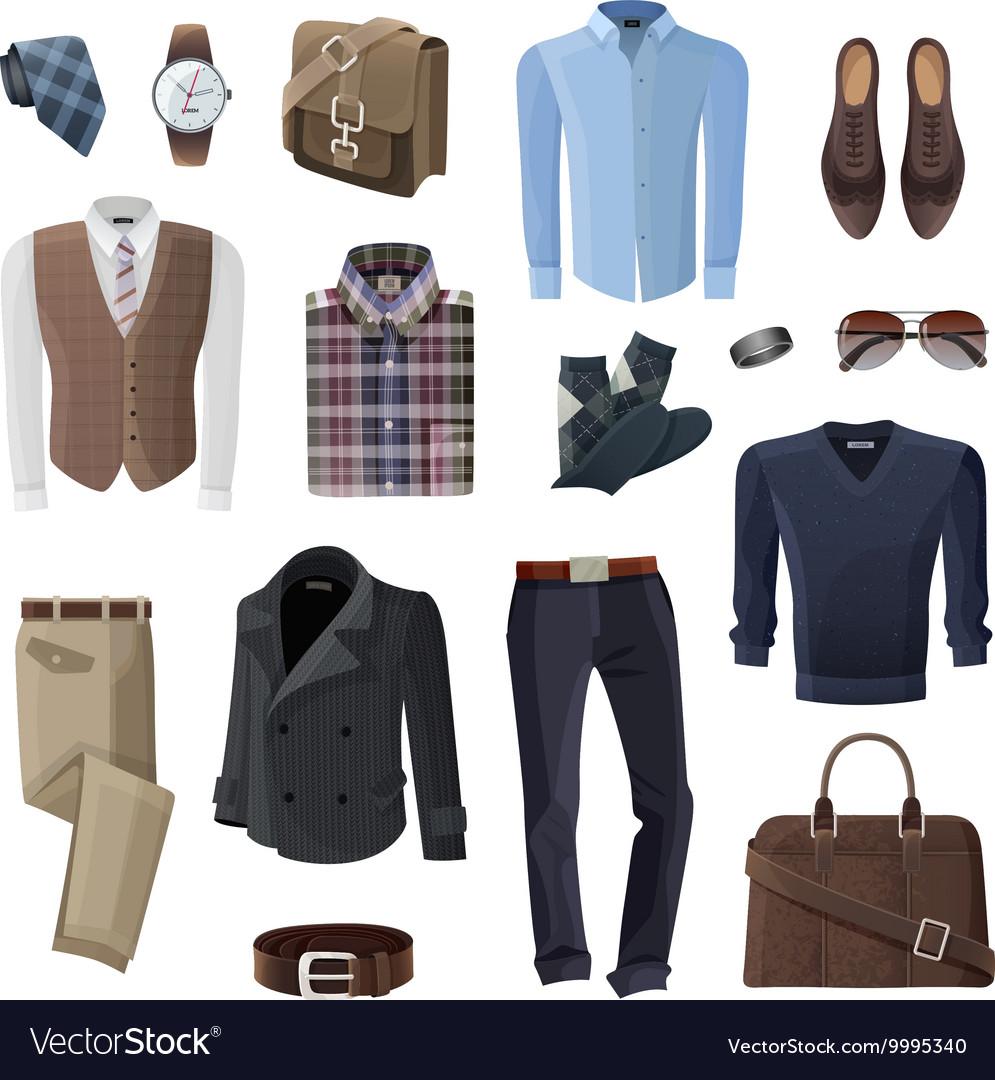 Fashion Business Man Accessories Set