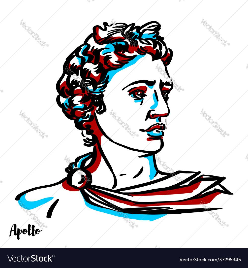 Apollo portrait