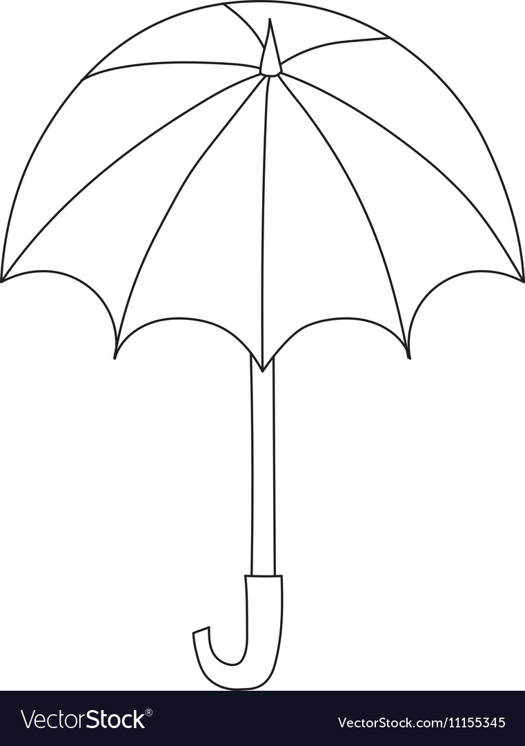 Umbrella isolated icon