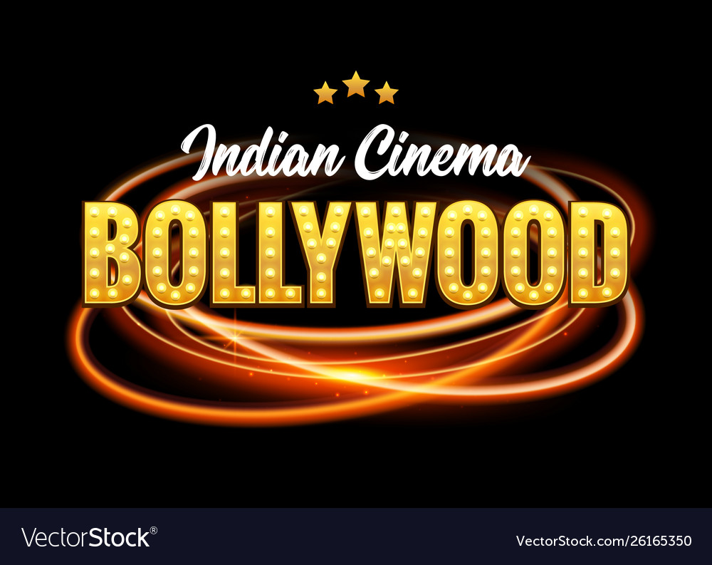 Bollywood indian cinema film banner indian cinema