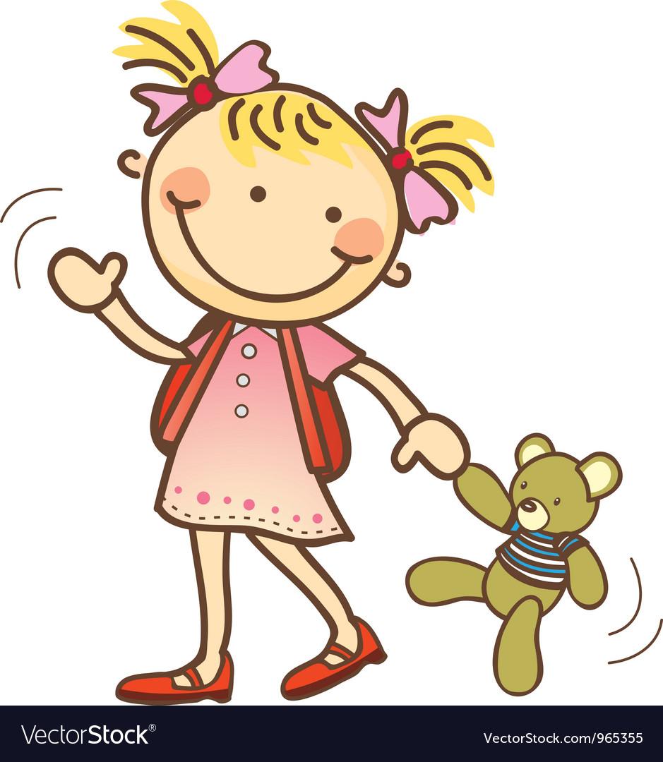 cute cartoon children royalty free vector image