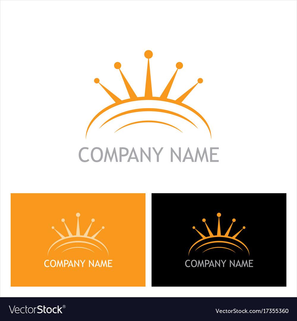 Crown abstract company logo