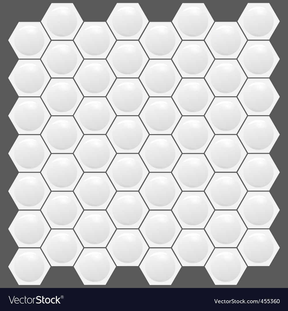Hexagon texture pattern