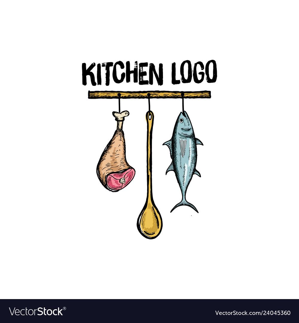 Kitchen logo design