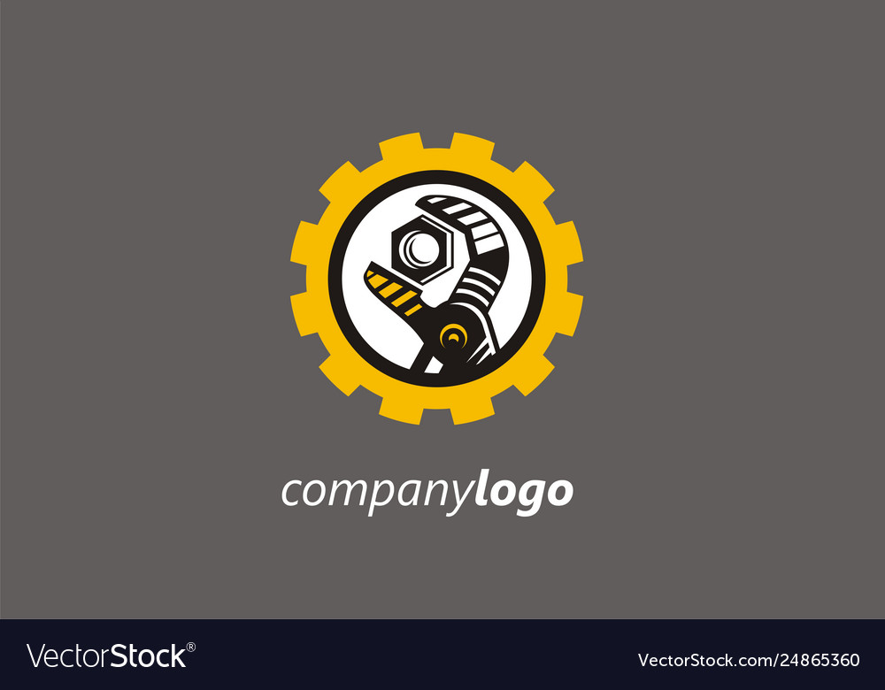 Logo cog tool key tool repair wheel gear