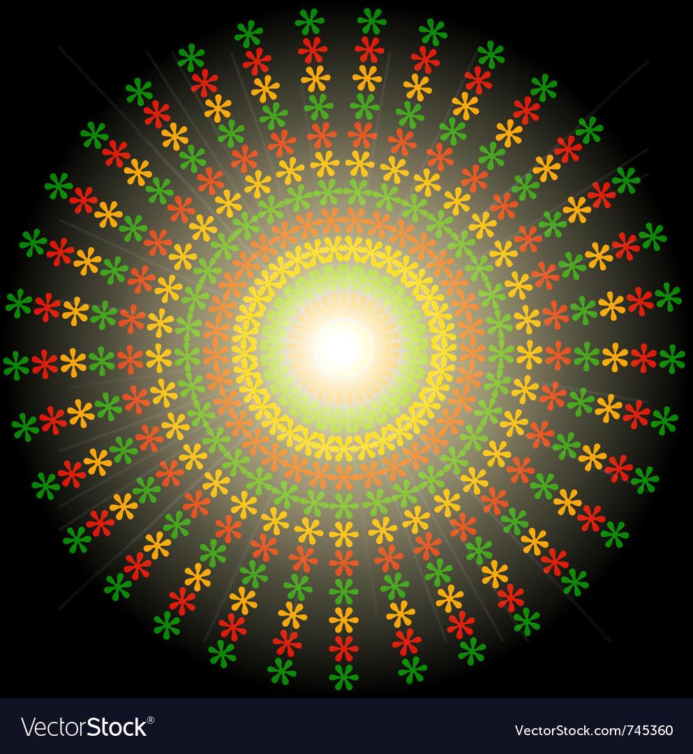 Reggae design element vector image