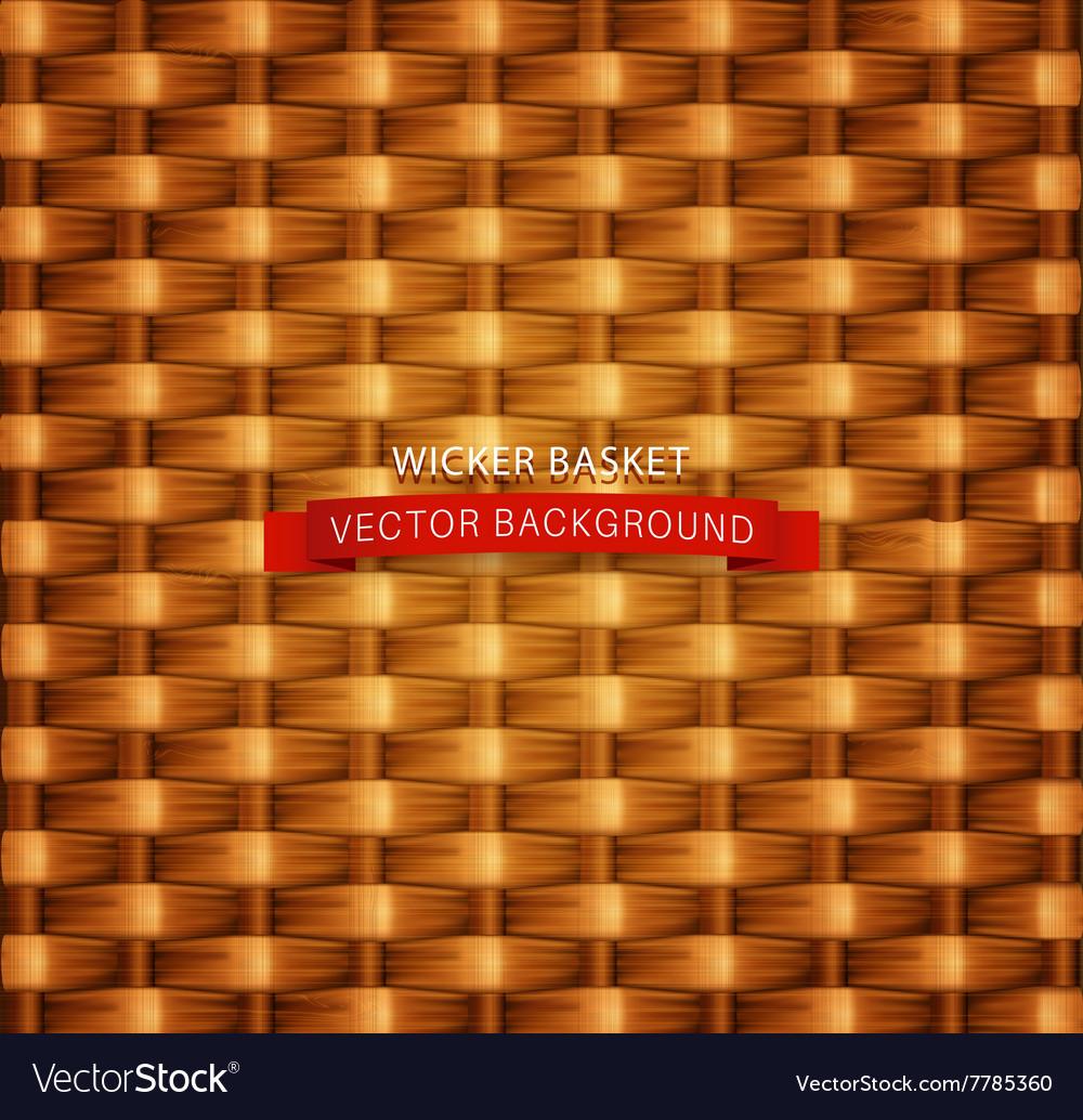Texture Wicker basket