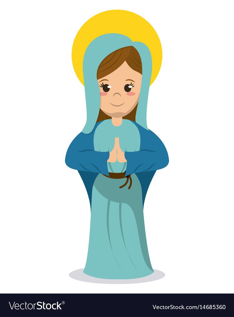 Virgin mary religious catholic image