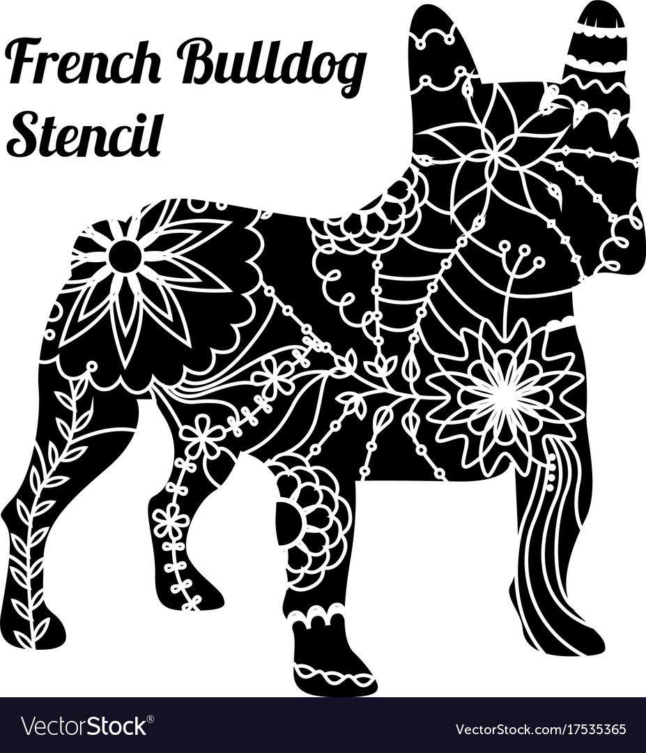 2019 year look- Stencil Bulldog pictures