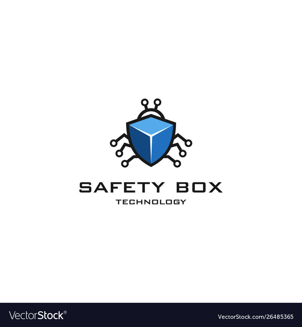 Safety box technology logo
