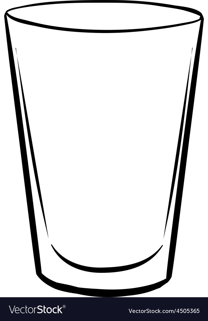 water glass royalty free vector image vectorstock rh vectorstock com grass vector glass victorville ca