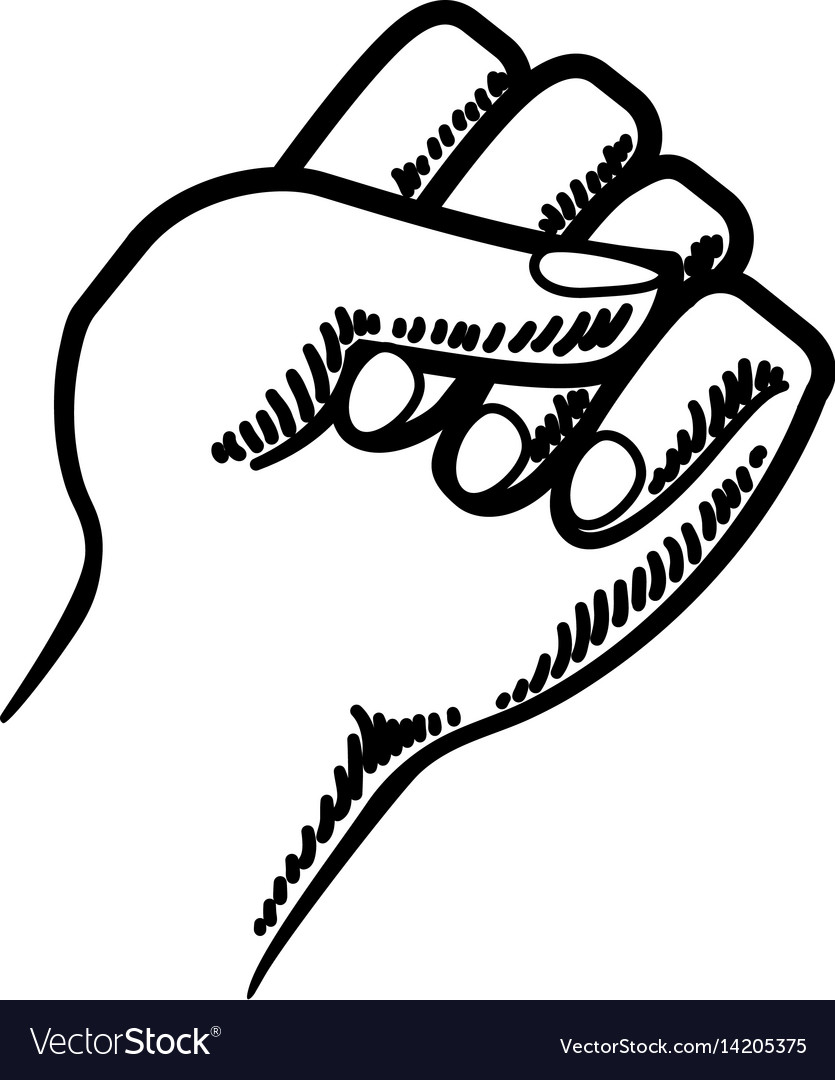 Fist hand symbol
