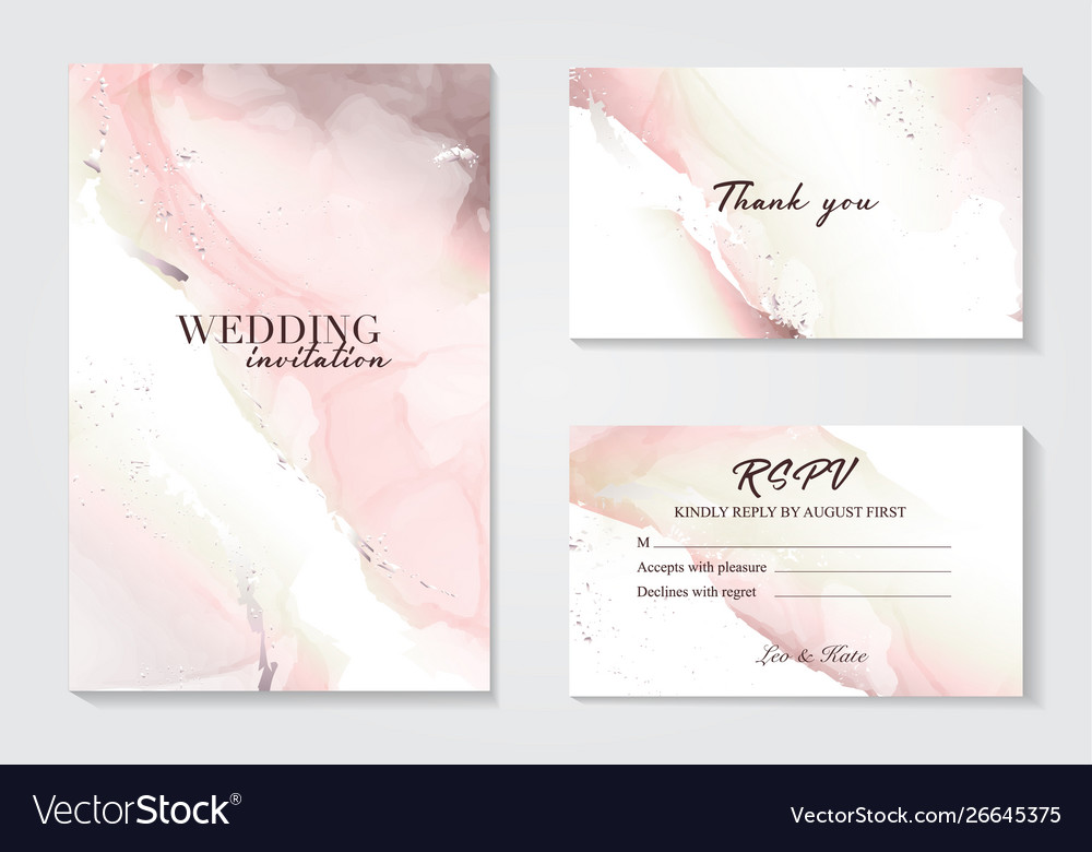 Marble wedding cover background set marble tender