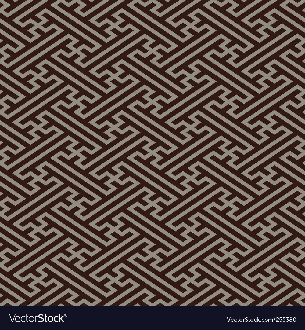 Oriental linen pattern