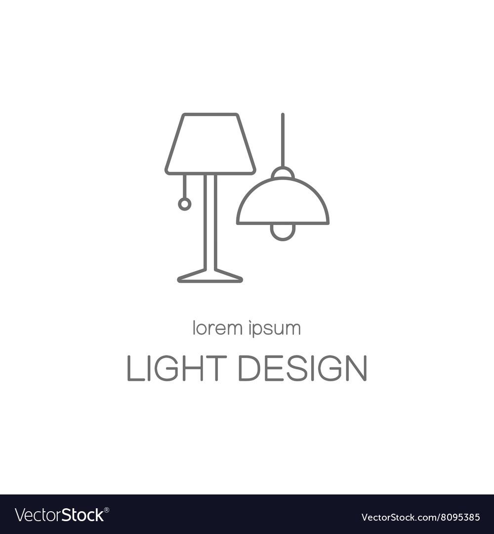 Light desigh house logotype design templates