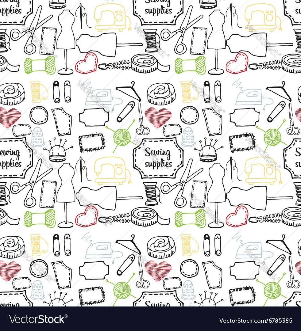 Pattern sewing accessory Doodle