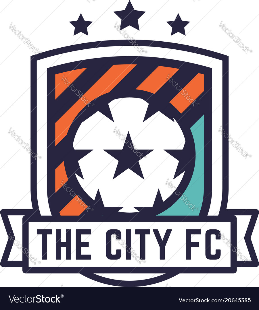 Soccer or football club logo or badge