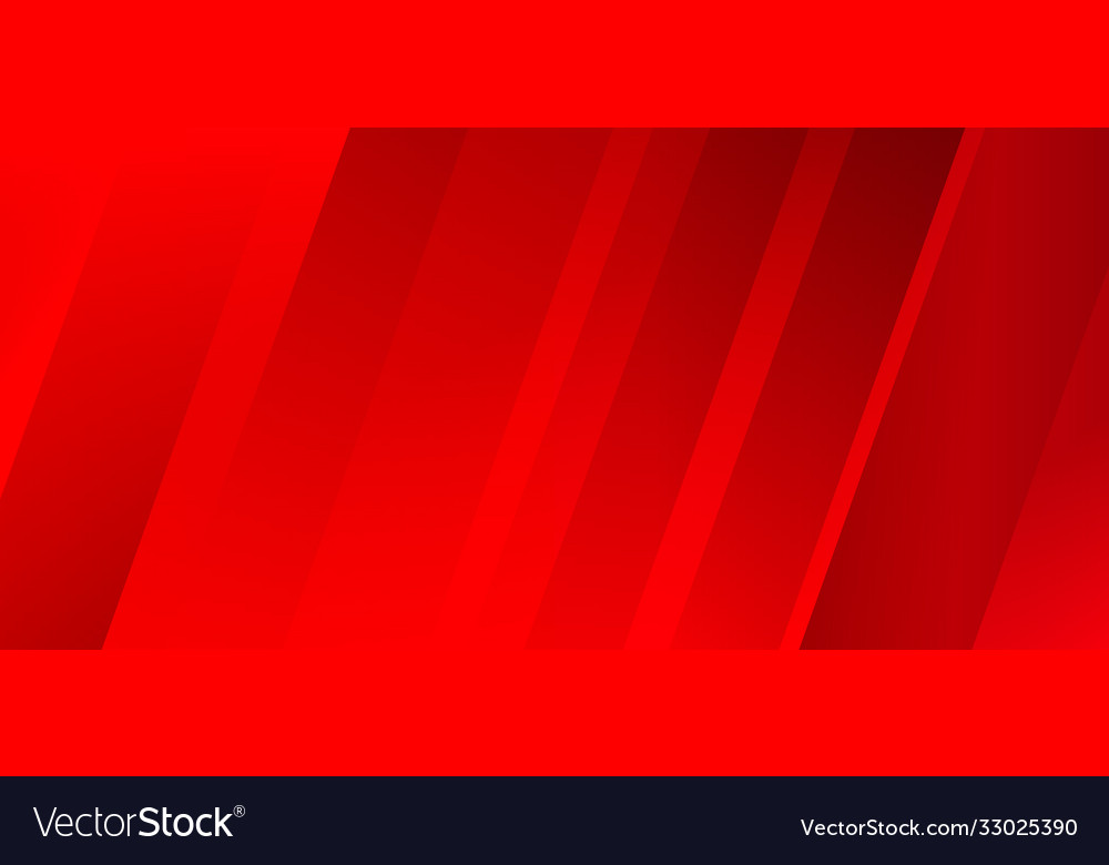 Abstract modern diagonal stripes red background