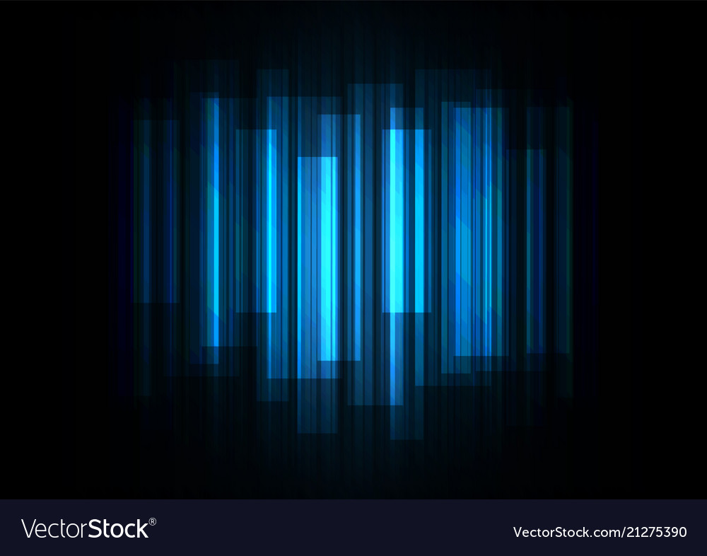 Fade Speed Bar Overlap In Dark Background Vector Image