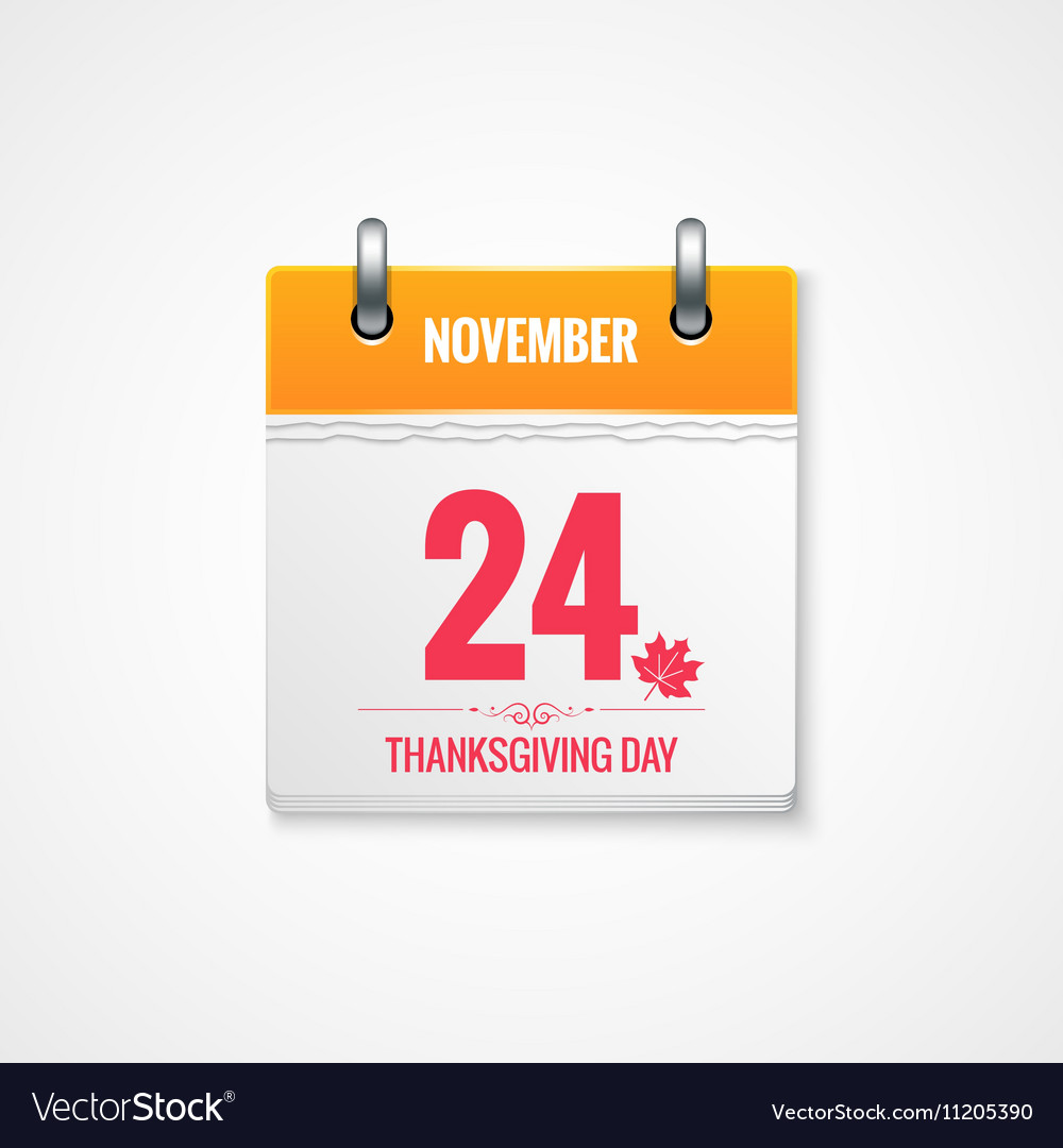 Thanksgiving Day calendar event background
