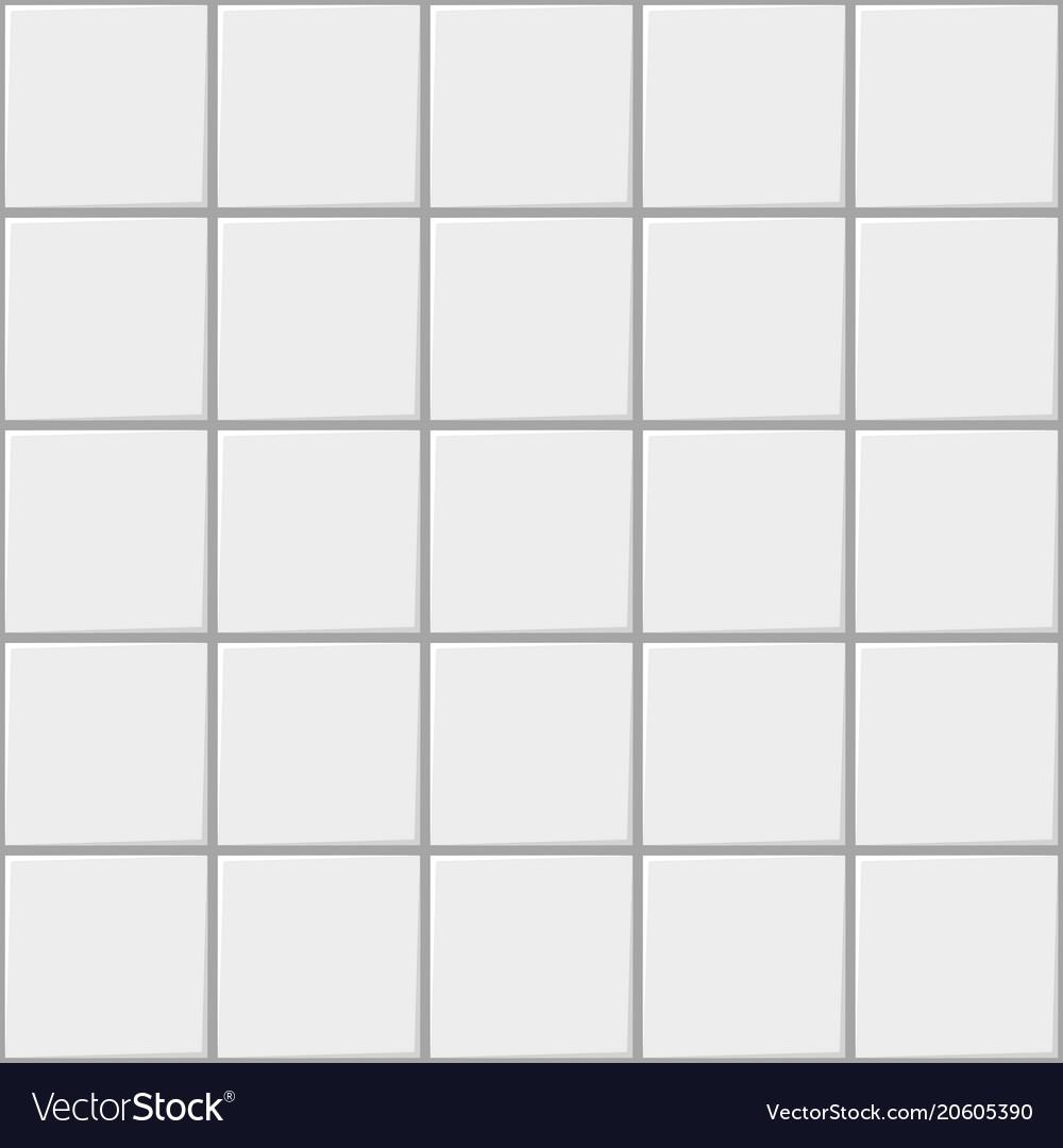 White square ceramic seamless pattern background