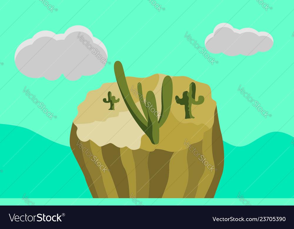 Wonderland cactus desert