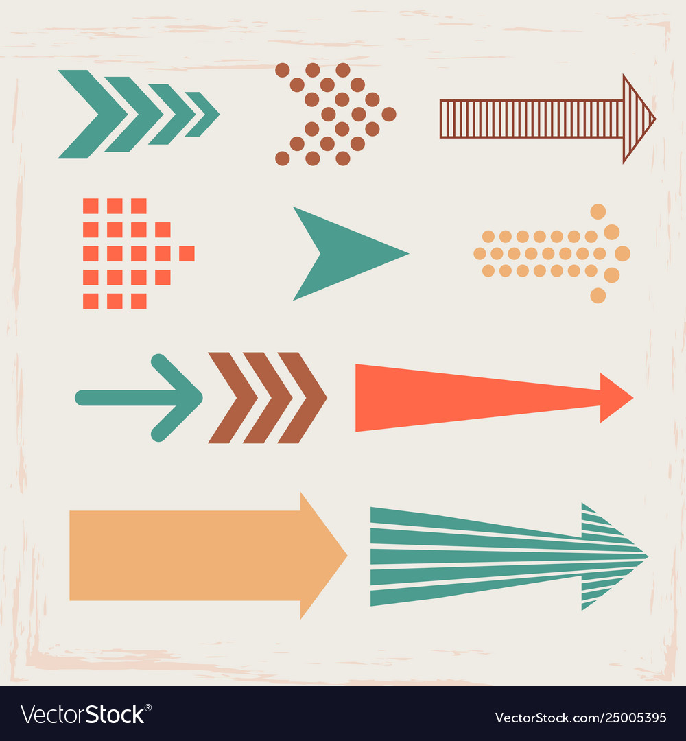 Arrows and directions signs