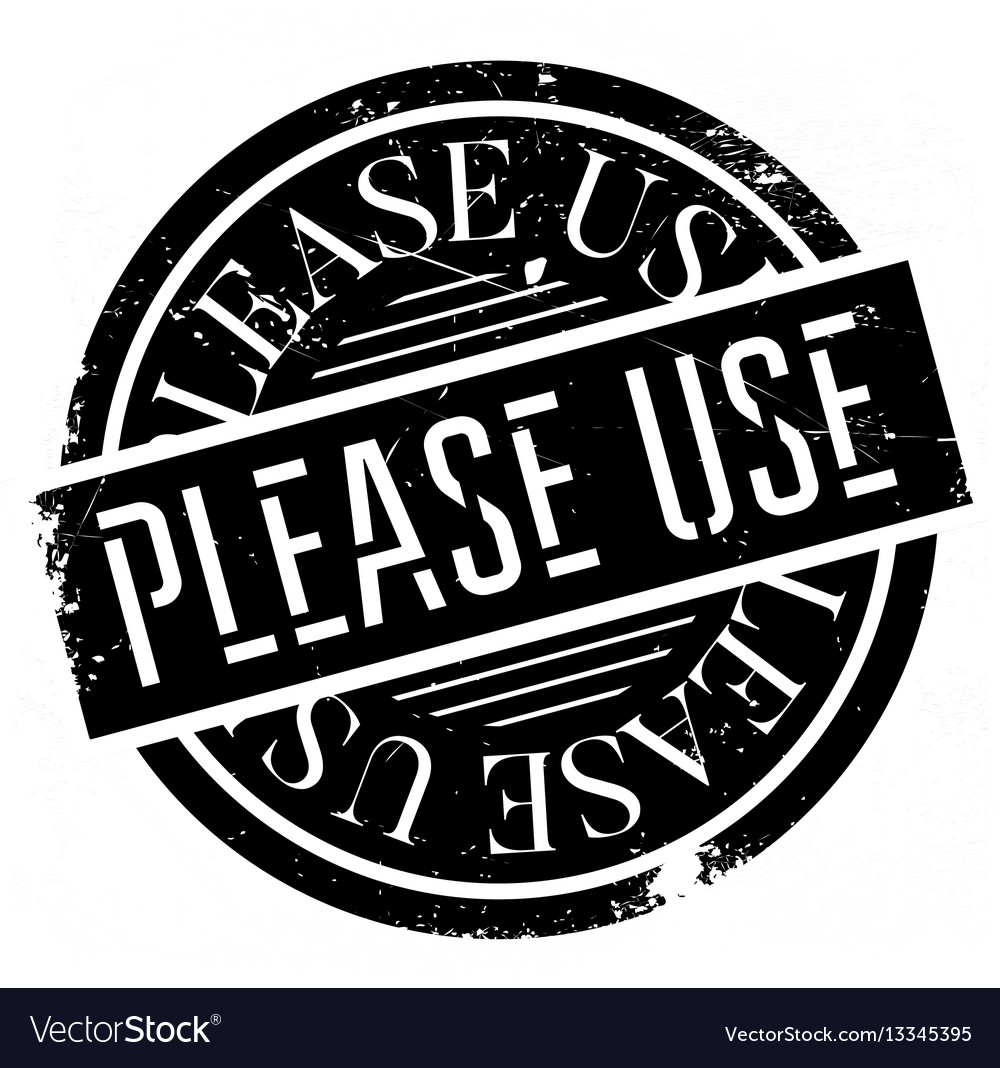Please use rubber stamp