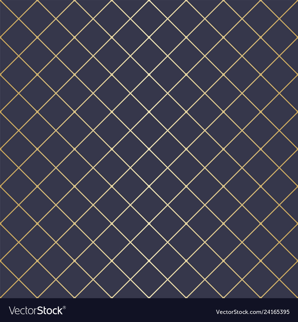 Seamless abstract golden geometric pattern