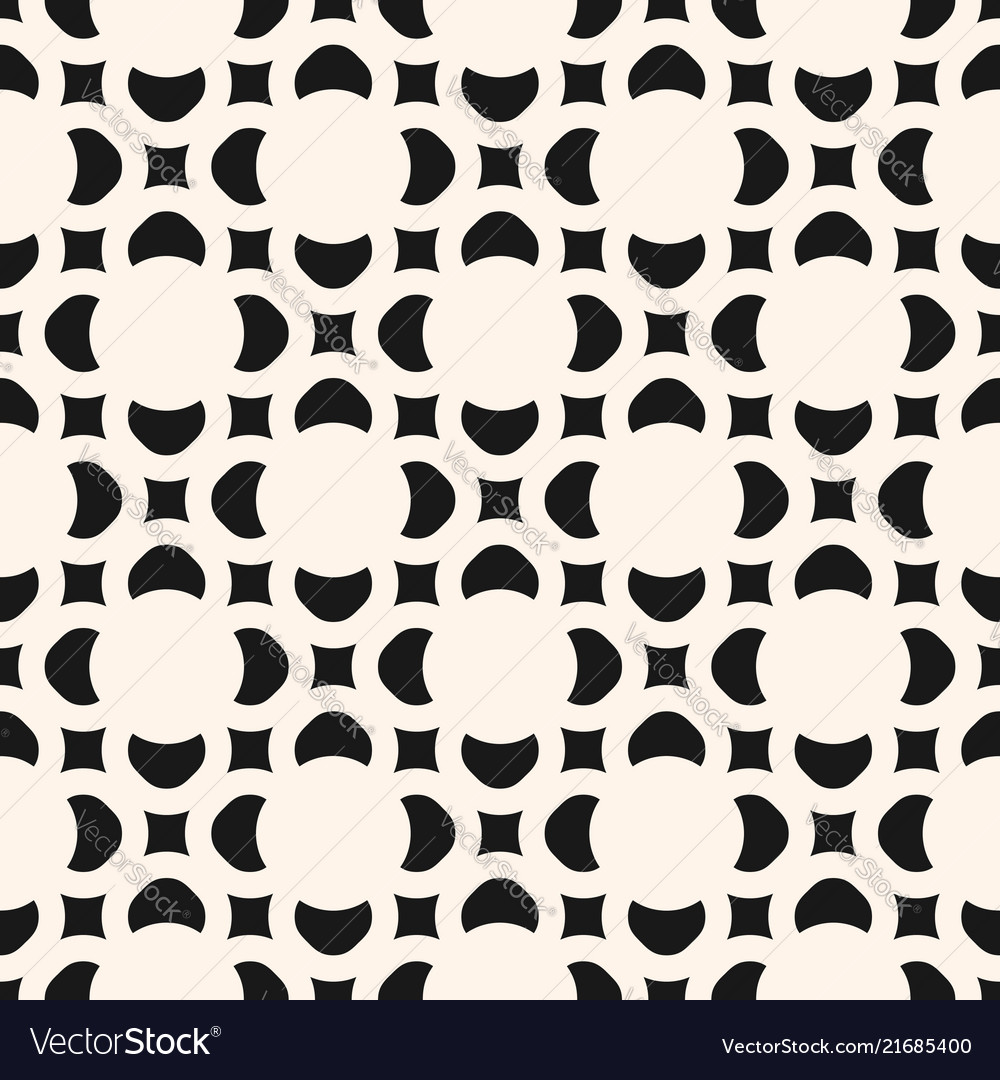 Geometric floral seamless pattern abstract