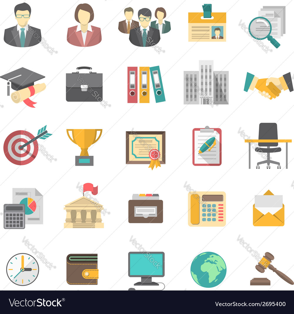 resume icons royalty free vector image - vectorstock