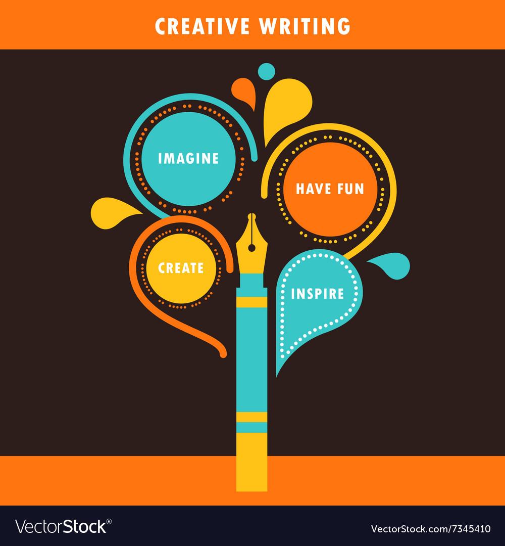 Creative Writing Infographics Template