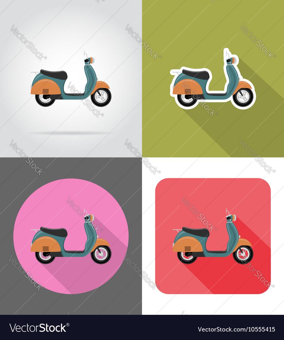 Transport flat icons 53