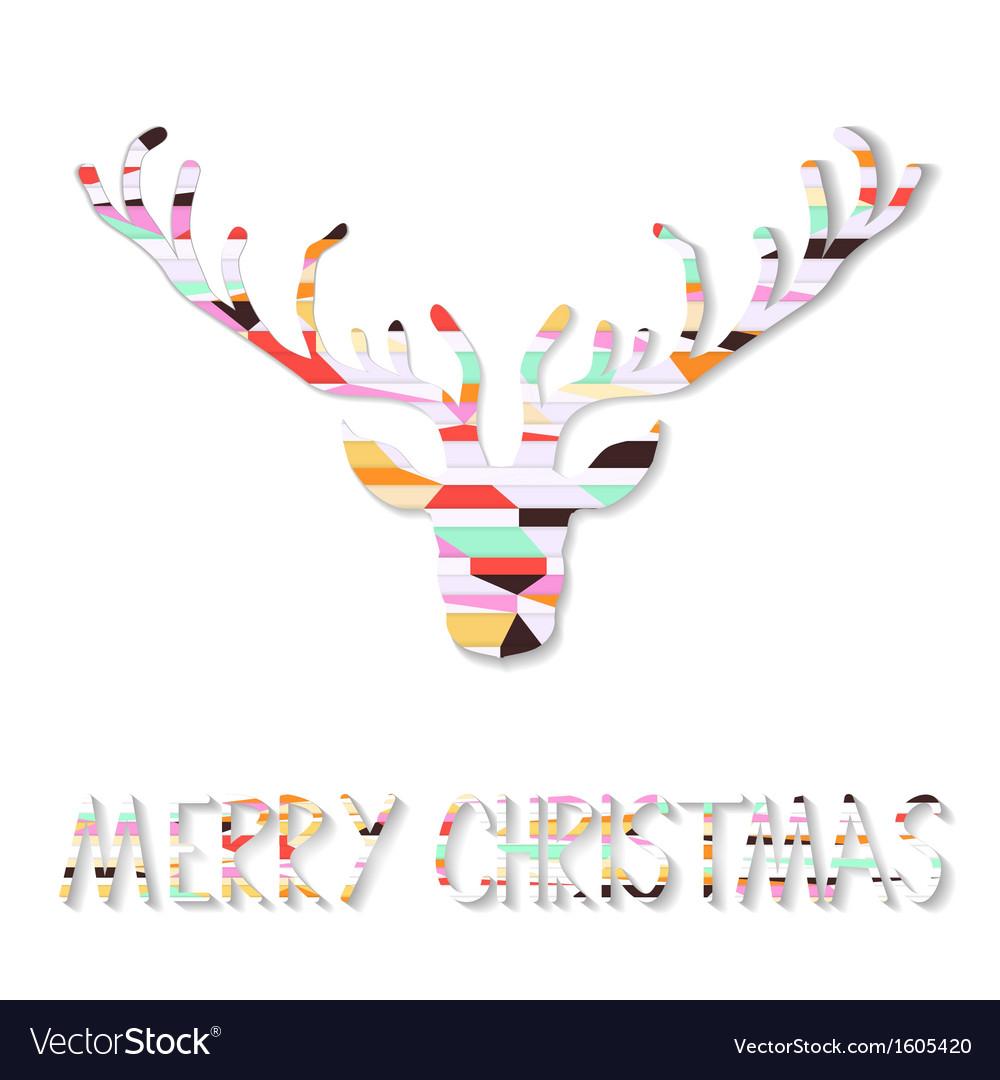 Reindeer Christmas Cards.Reindeer Christmas Card