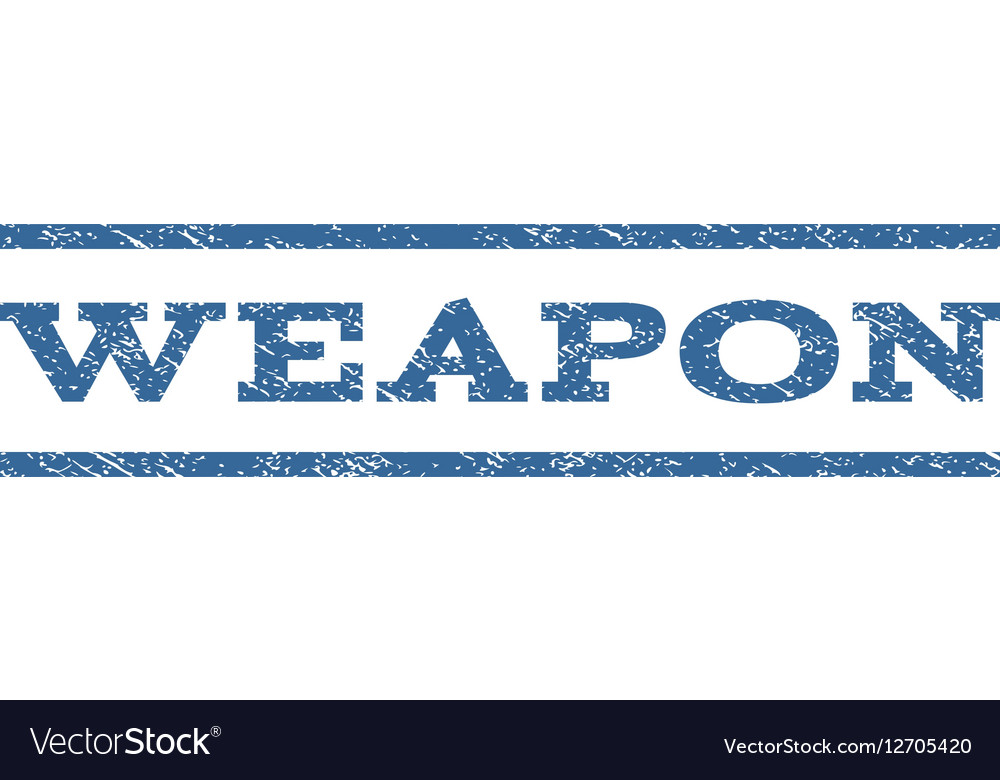 Weapon Watermark Stamp