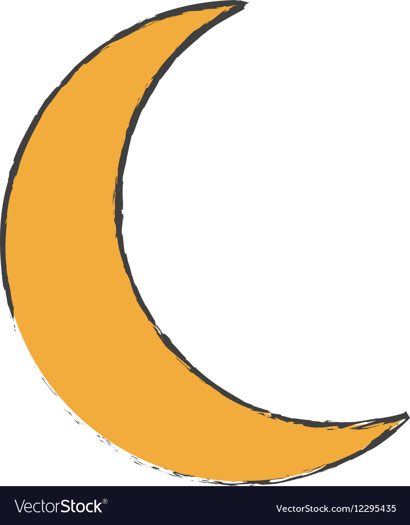 Crescent moon icon image